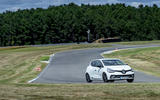 Renault Clio RS 220 Trophy on track