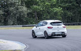 Renault Clio RS 220 Trophy rear cornering