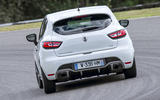 Renault Clio RS 220 Trophy cornering