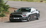 Sutton Mustang CS800 cornering