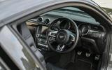 Sutton Mustang CS800 interior