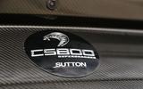 Sutton Mustang CS800 badging