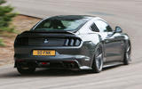Sutton Mustang CS800 rear cornering