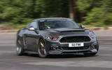 Sutton Mustang CS800 drifting