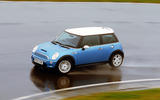 Mini Cooper S cornering