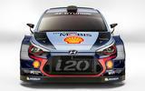 Hyundai i20 rally car