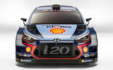 Hyundai i20 rally car
