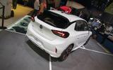 2020 Vauxhall Corsa-e at Frankfurt motor show 2019