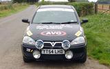 Vauxhall Corsa Mull Rally