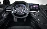 Corvette C8 dash