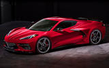 Corvette Stingray C8 official reveal - front