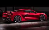 Corvette Stingray C8 official reveal - rear