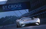 Jaguar Vision GT concept racing
