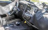 Nissan Rogue spy shot - interior