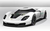 Porsche Hypercar Autocar render