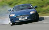 Jaguar XK drift