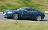 Jaguar XK side