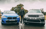 Wright between BMW and Land Rover