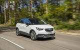 Vauxhall Crossland X on the road