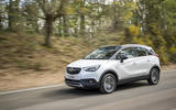 Vauxhall Crossland X front end