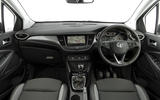 Vauxhall Crossland X dashboard