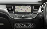 Vauxhall Crossland X infotainment system