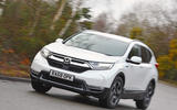 Honda CR-V cornering