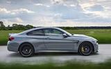 BMW M4 CS side profile