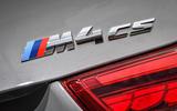 BMW M4 CS badging