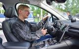 Nio ES8 driving