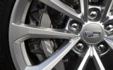 Cadillac CTS-V brake calipers