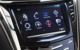 Cadillac CTS-V infotainment