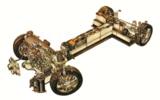 GM EV1 drivetrain cutaway