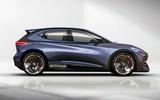 Cupra supermini EV render 2019