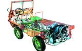 Steyr-Puch Haflinger cutaway