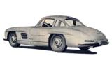 1955 Mercedes-Benz 300 SL rear