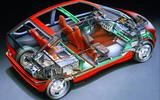 1992 BMW E1 cutaway