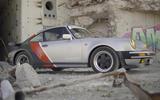 Porsche 911 Cyberpunk 2077 tie-in - one-off build