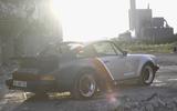 Porsche 911 Cyberpunk 2077 tie-in - one-off build rear