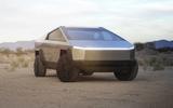 Tesla Cybertruck front close