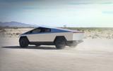 Tesla Cybertruck rear