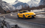 Today on our journey to Monte Carlo in the Toyota GR Supra, we're heading into the heart of the Hautes Alpes