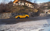 The steep climb to Alpe d'Huez is a perfect showcase for the Toyota GR Supra's nimble and responsive chassis