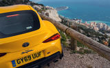 With a view like this... The Toyota GR Supra and the Mediterranean battle for attention