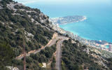 Vroom with a view: Descending the twisty road into Monaco in the Toyota GR Supra