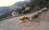 The road to Monte Carlo snakes its way down the side of a mountain. Perfect territory for the Toyota GR Supra