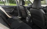 Skoda Octavia 2.0 TDI 2017 rear seats