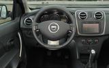 Dacia Sandero Stepway LPG dashboard