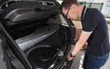 Checking out the Dacia Sandero Stepway LPG fuel tank