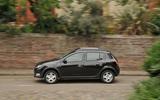 Dacia Sandero Stepway LPG on the road